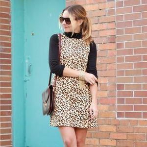 Zara Leopard Shift Dress